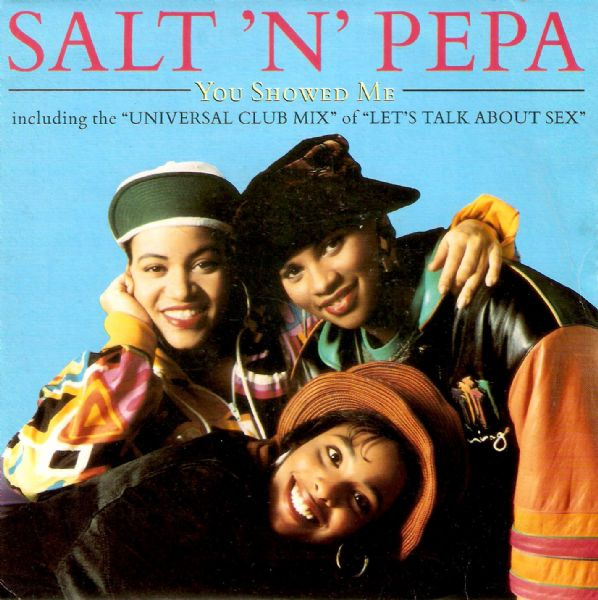 SALT-N-PEPA You Showed Me Vinyl Record 7 Inch French FFRR 1991